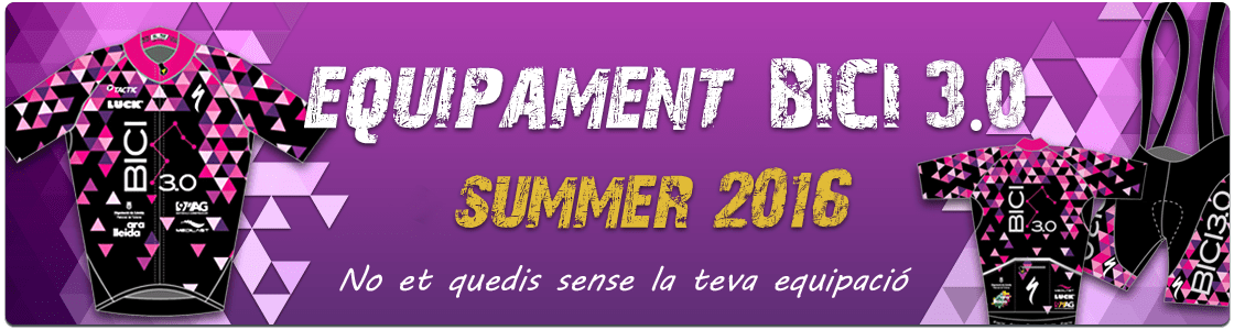 Equipament Summer 2016
